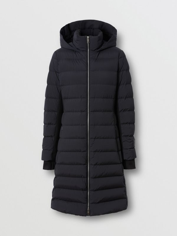 Hooded Puffer Coat in Black - Women   Burberry United States - cell image 3