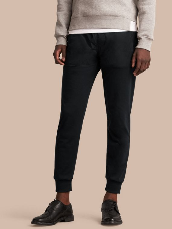 Sport Panel Cotton Blend Sweatpants - Men | Burberry Singapore