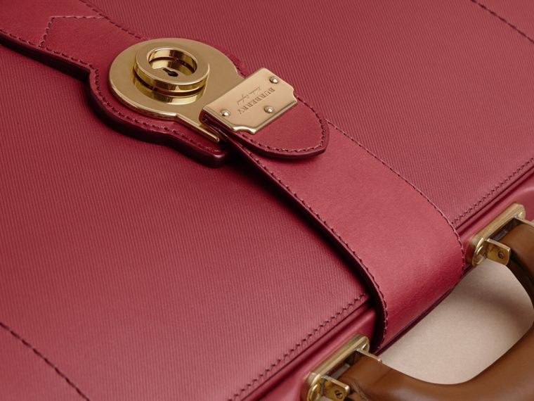 The DK88 Doctor's Bag in Antique Red - Men | Burberry Hong Kong - cell image 1