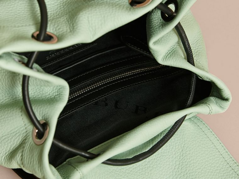 The Medium Rucksack in Deerskin with Resin Chain in Spearmint - Women | Burberry - cell image 4