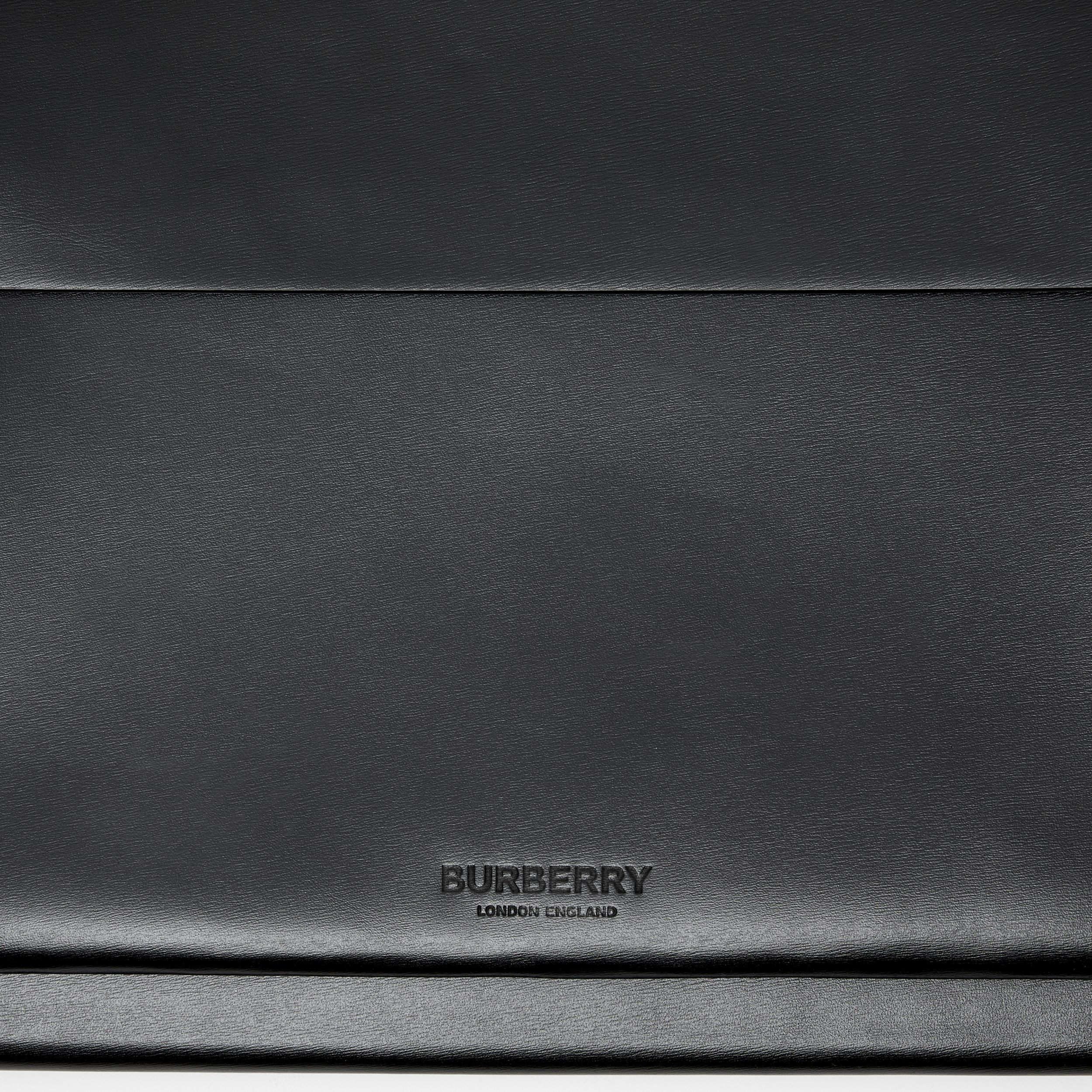 Leather Laptop Envelope Pouch in Black - Men | Burberry Hong Kong S.A.R. - 2