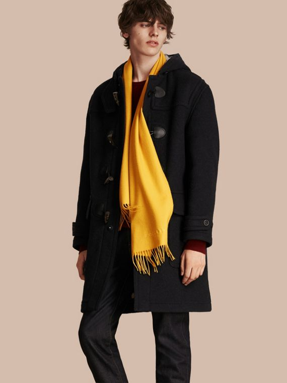 Gorse yellow The Classic Cashmere Scarf Gorse Yellow - cell image 3