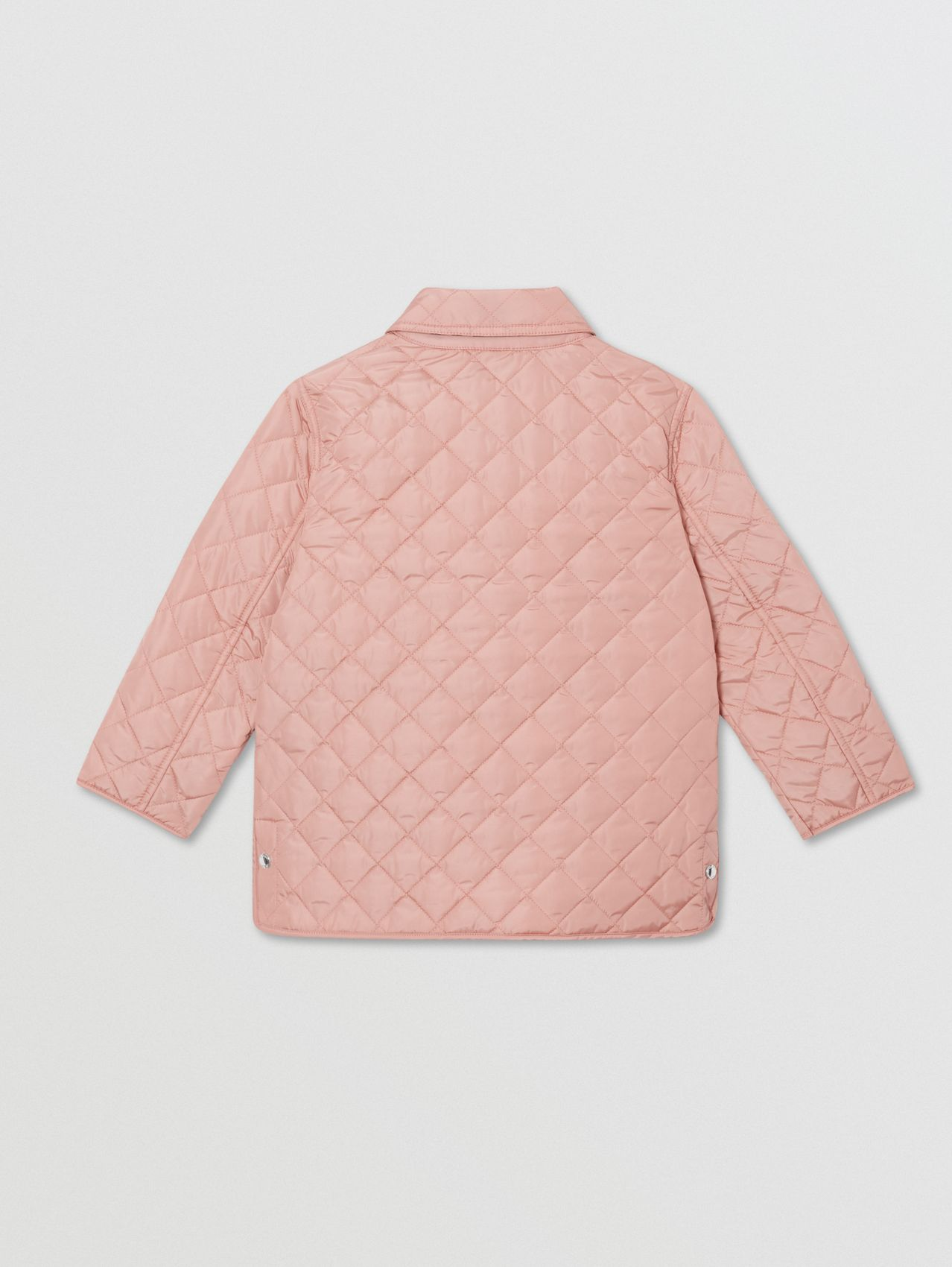 Lightweight Diamond Quilted Jacket in Dusty Pink