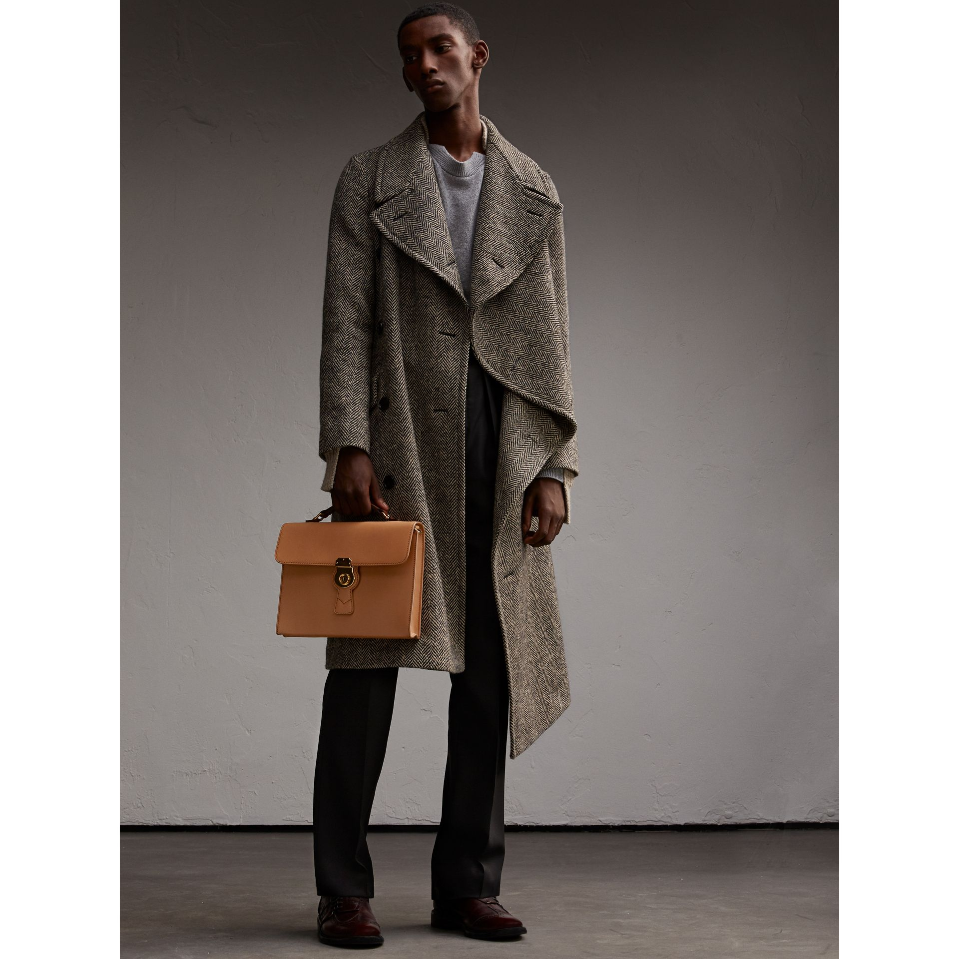 The DK88 Portfolio Case in Pale Clementine - Men | Burberry - gallery image 3