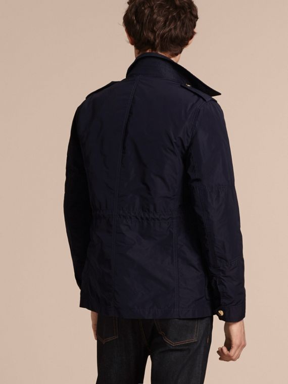 Navy Lightweight Technical Field Jacket with Removable Warmer Navy - cell image 2