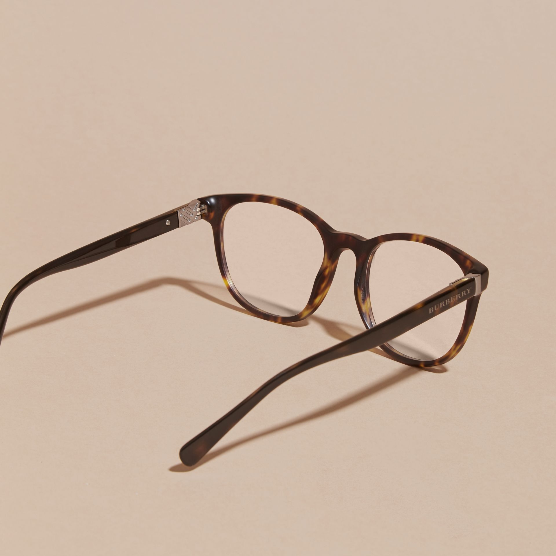 Tortoise shell Square Optical Frames Tortoise Shell - gallery image 4