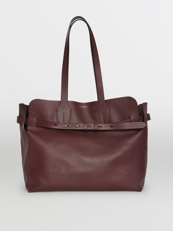 The Medium Soft Leather Belt Bag in Deep Claret