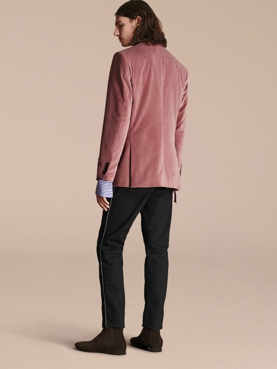 Rose pink Tailored Velvet Jacket - cell image 2