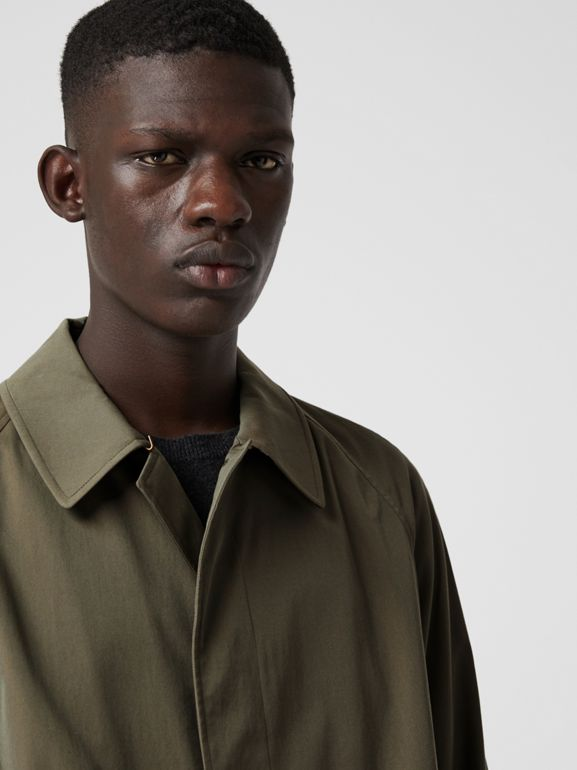 The Brighton Car Coat in Chalk Green - Men | Burberry United Kingdom - cell image 1