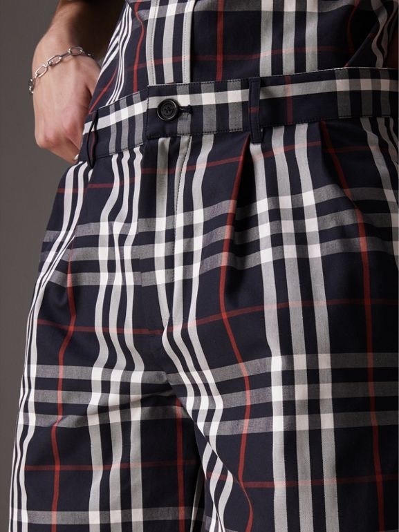 Gosha x Burberry Tailored Shorts in Navy | Burberry - cell image 1