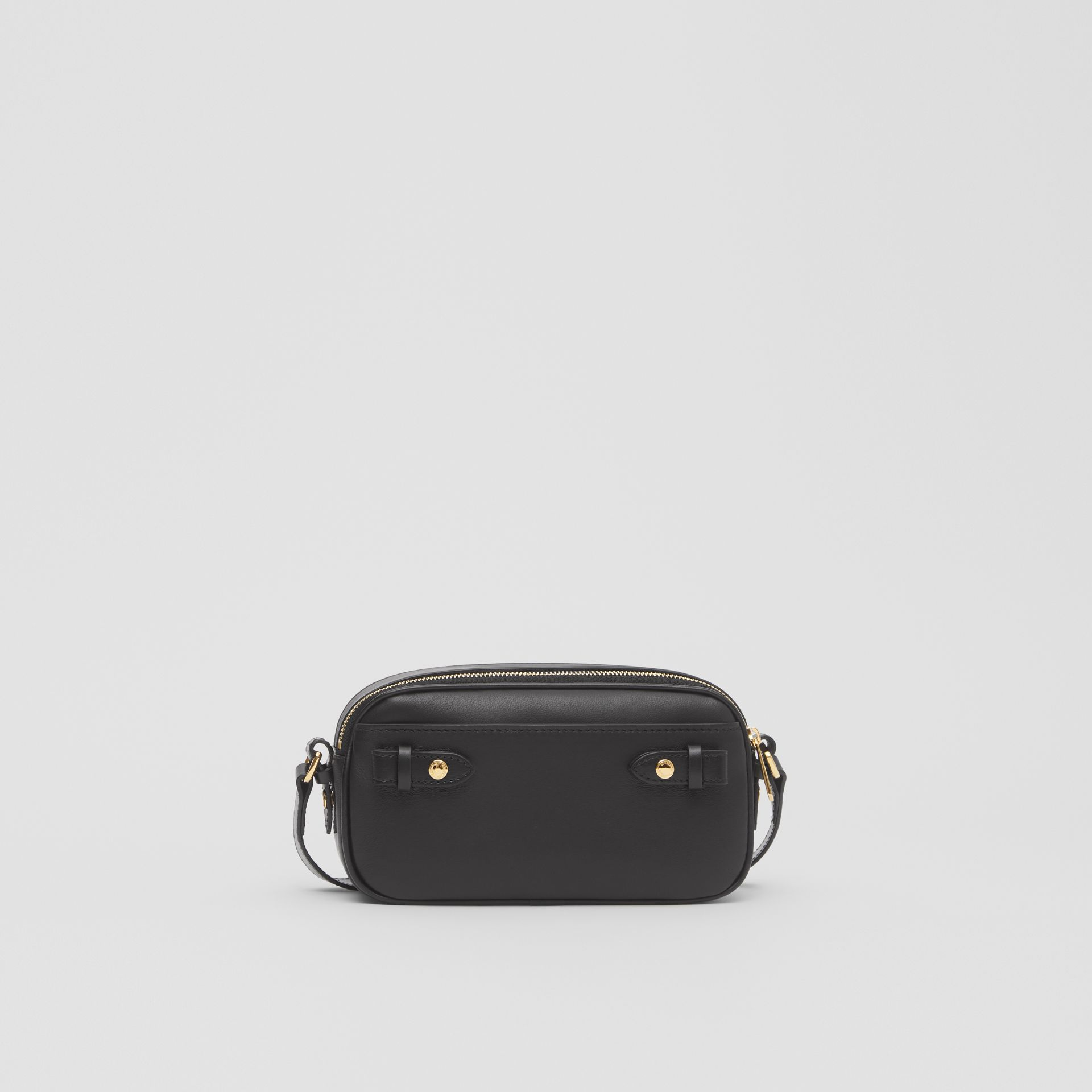 Mini Quilted Lambskin Camera Bag in Black   Burberry United Kingdom - gallery image 8