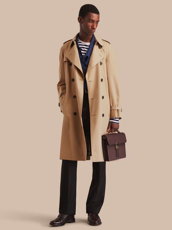 The Westminster – Trench-coat Heritage long Miel