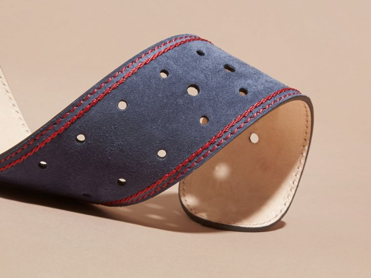 Navy English Suede Belt - cell image 2