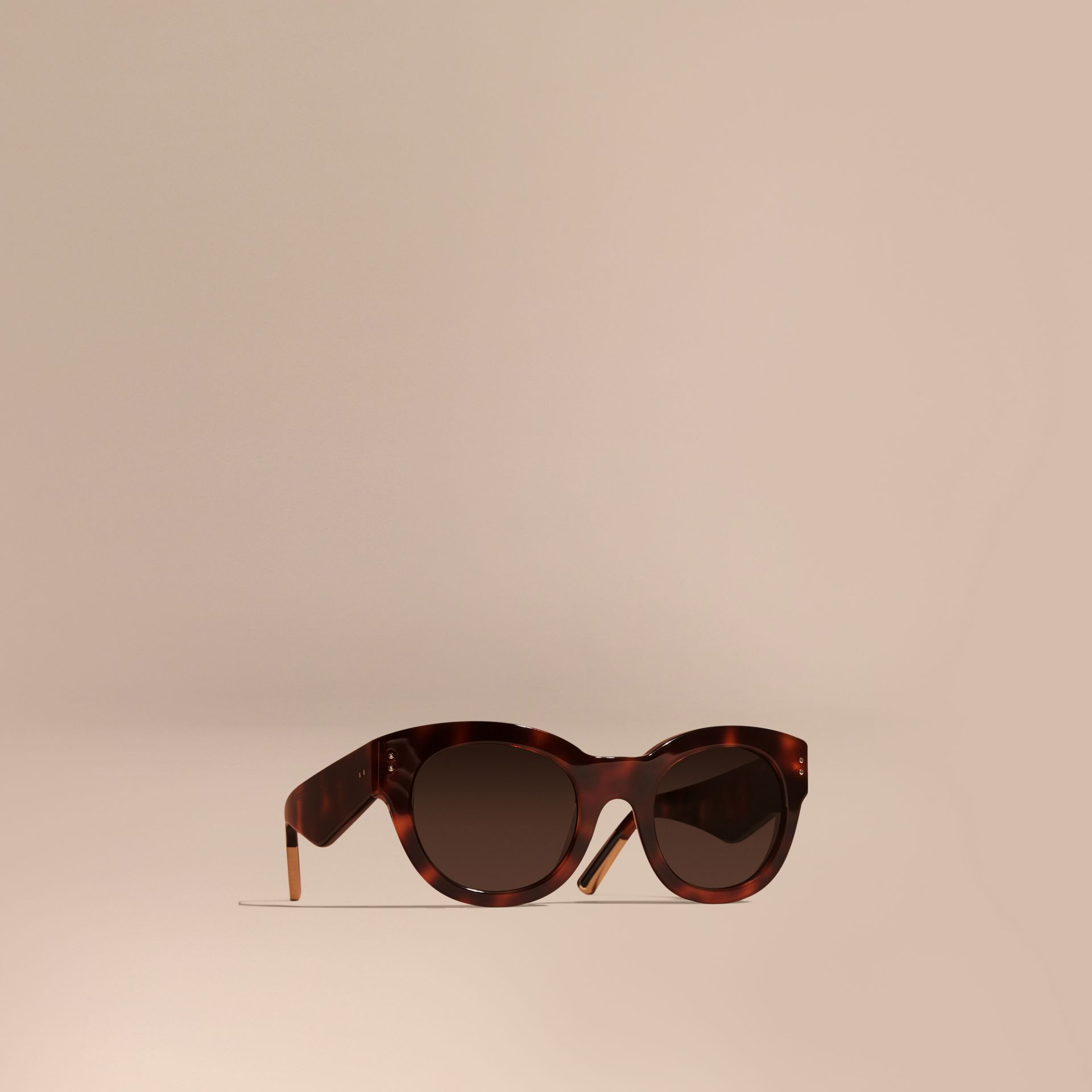 Tortoise shell Cat-eye Sunglasses Tortoise Shell - gallery image 1