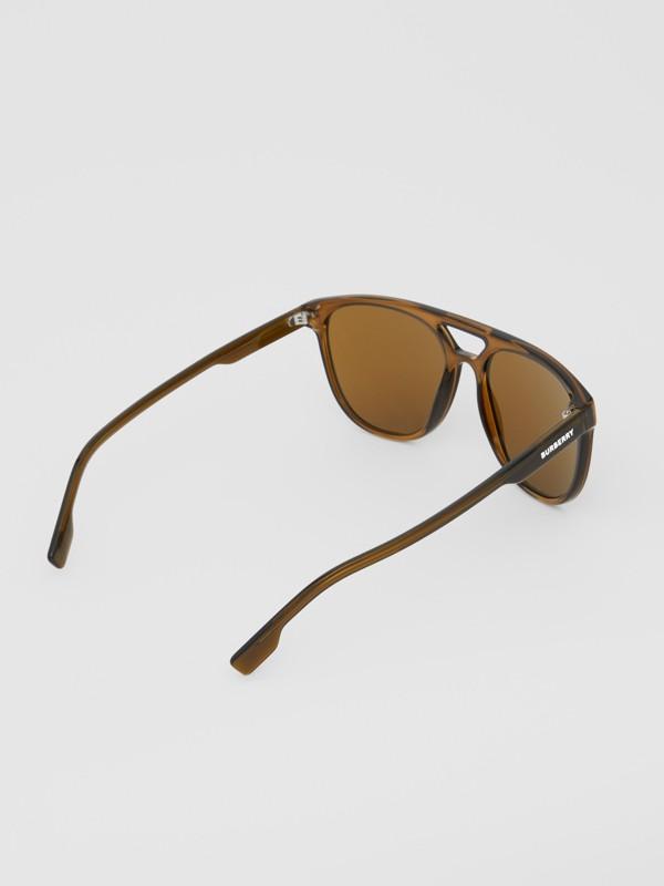 領航員太陽眼鏡 (橄欖綠) - 男款 | Burberry - cell image 3