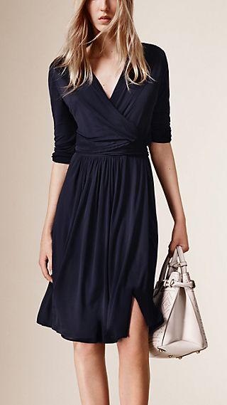 Jersey Wrap Dress
