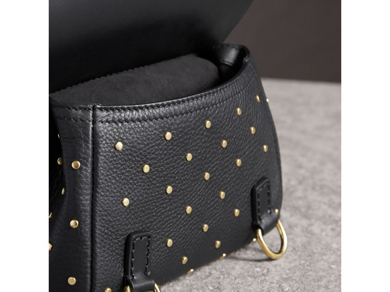 Sac The Baby Bridle en cuir à rivets (Noir) - Femme | Burberry - cell image 4