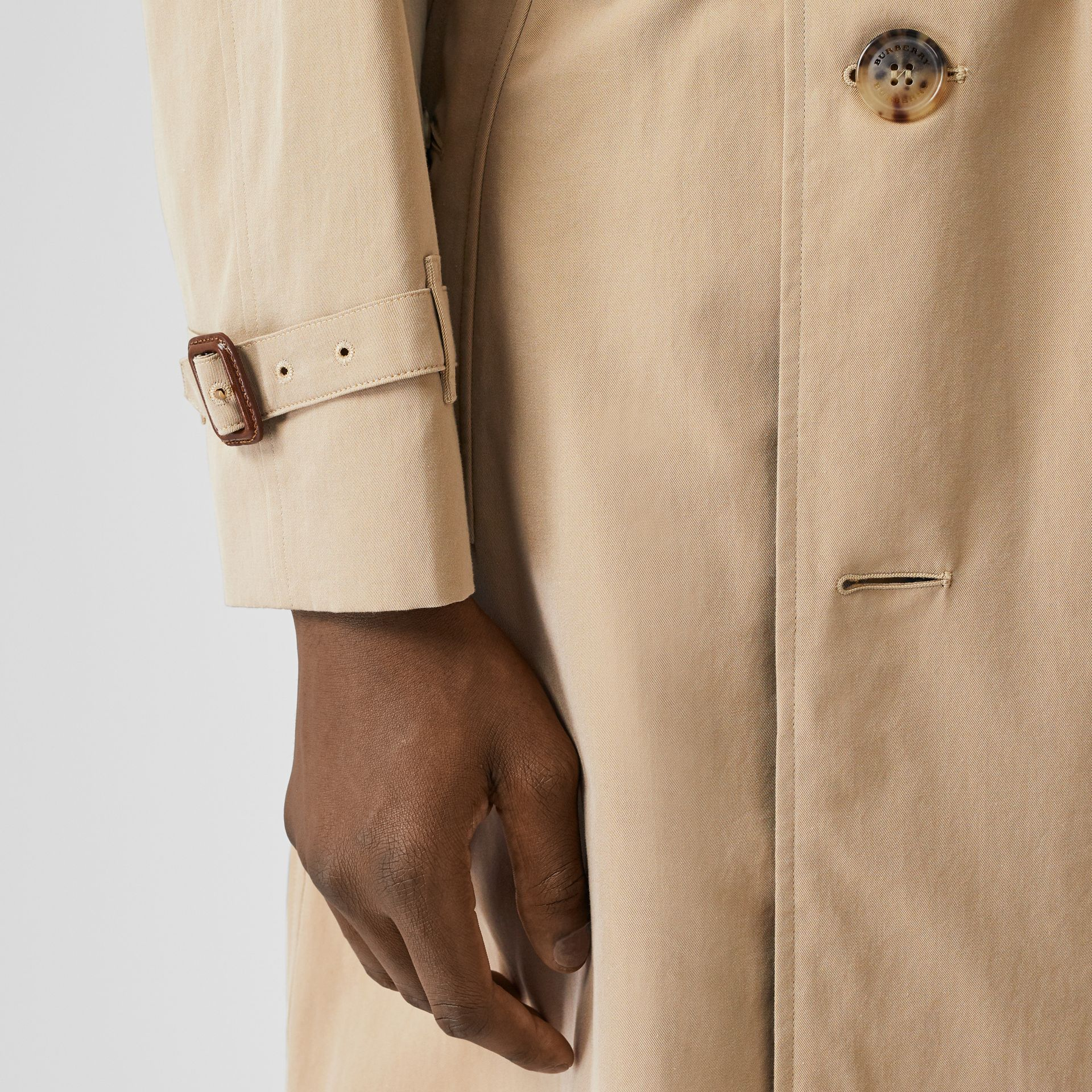 The Westminster Heritage Trench Coat in Honey - Men | Burberry - gallery image 5