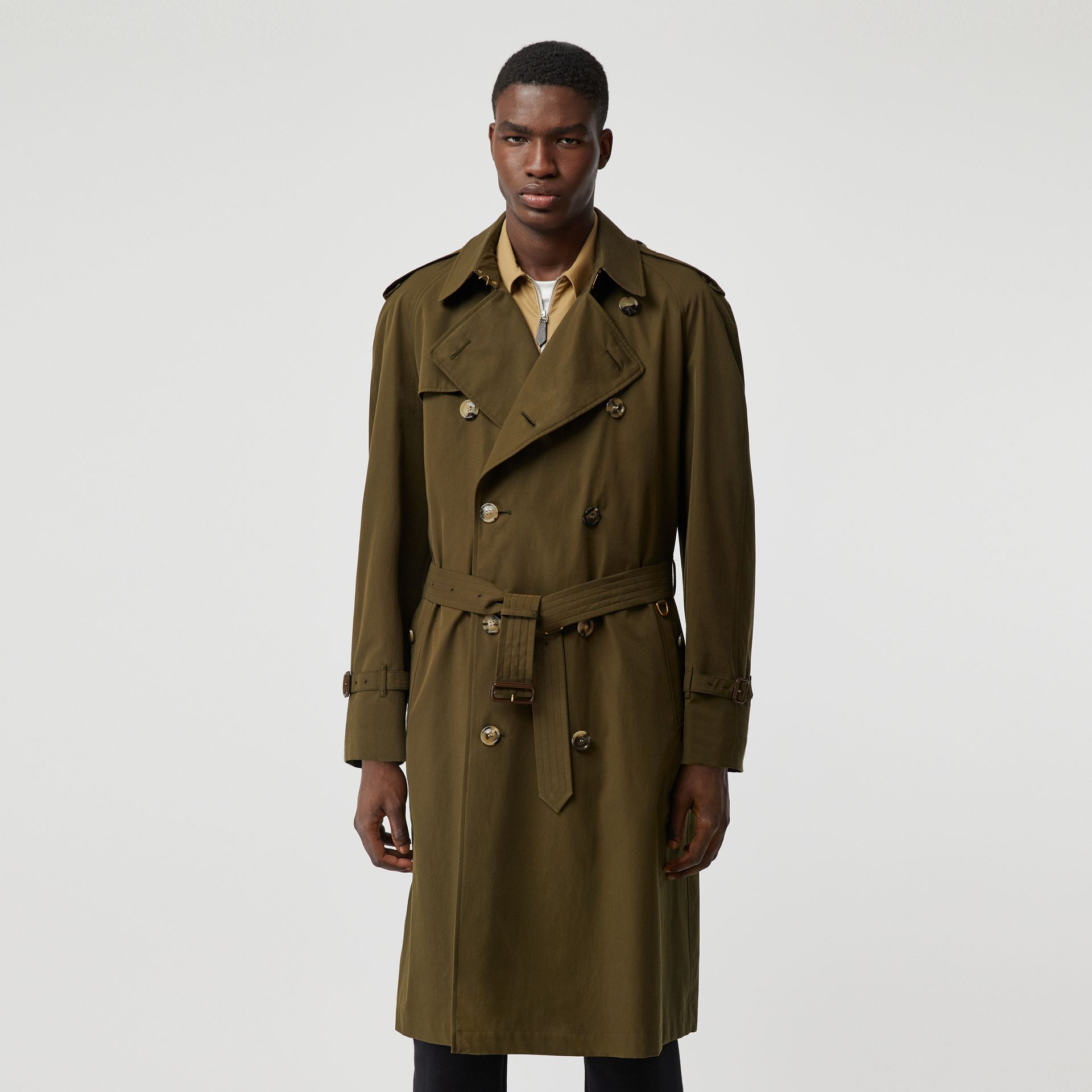 The Westminster Heritage Trench Coat in Dark Military Khaki - Men | Burberry Canada - gallery image 6