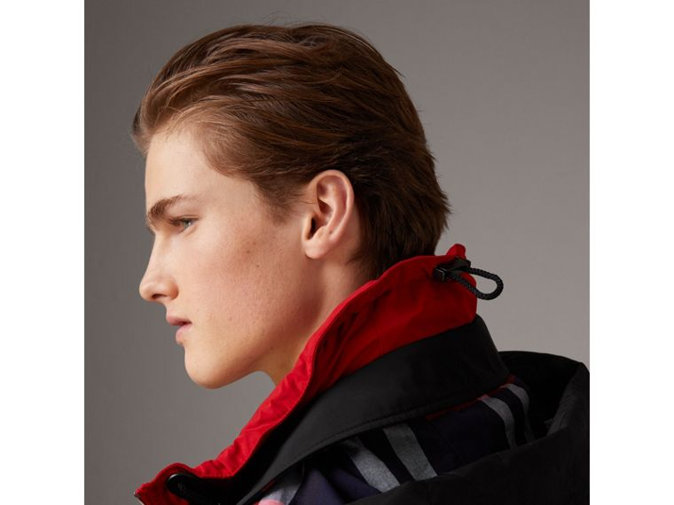 Taffeta Coat with Detachable Hood and Gilet in Black - Men | Burberry United States - cell image 1