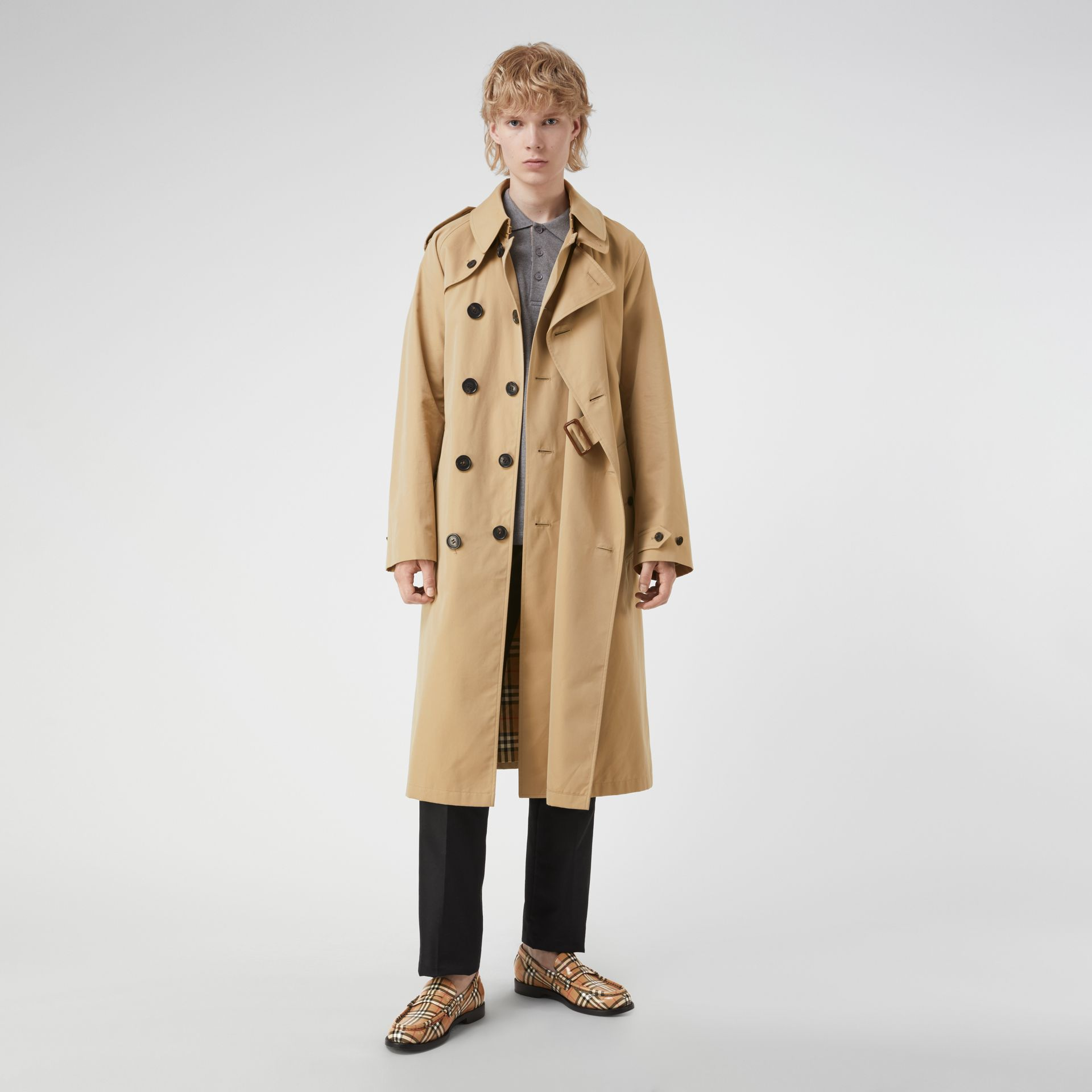 Gosha x Burberry Reconstructed Trench Coat in Honey | Burberry - gallery image 0