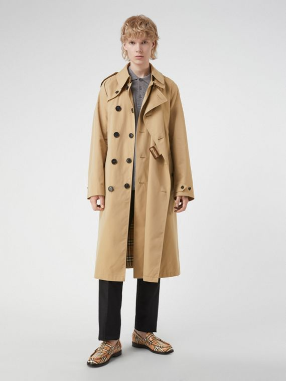 Gosha x Burberry Reconstructed Trench Coat in Honey