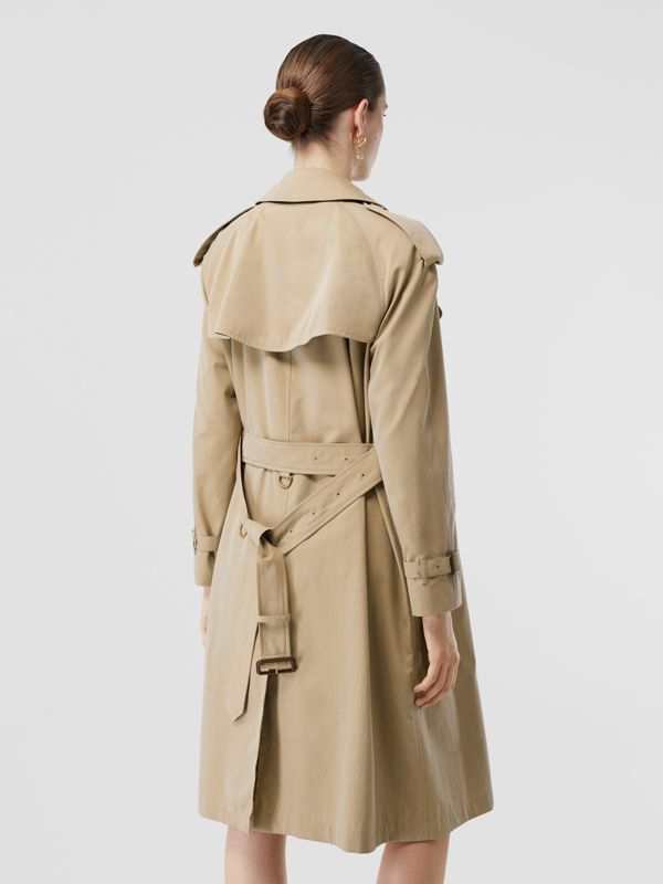 The Mid-length Westminster Heritage Trench Coat in Honey - Women | Burberry Australia - cell image 2