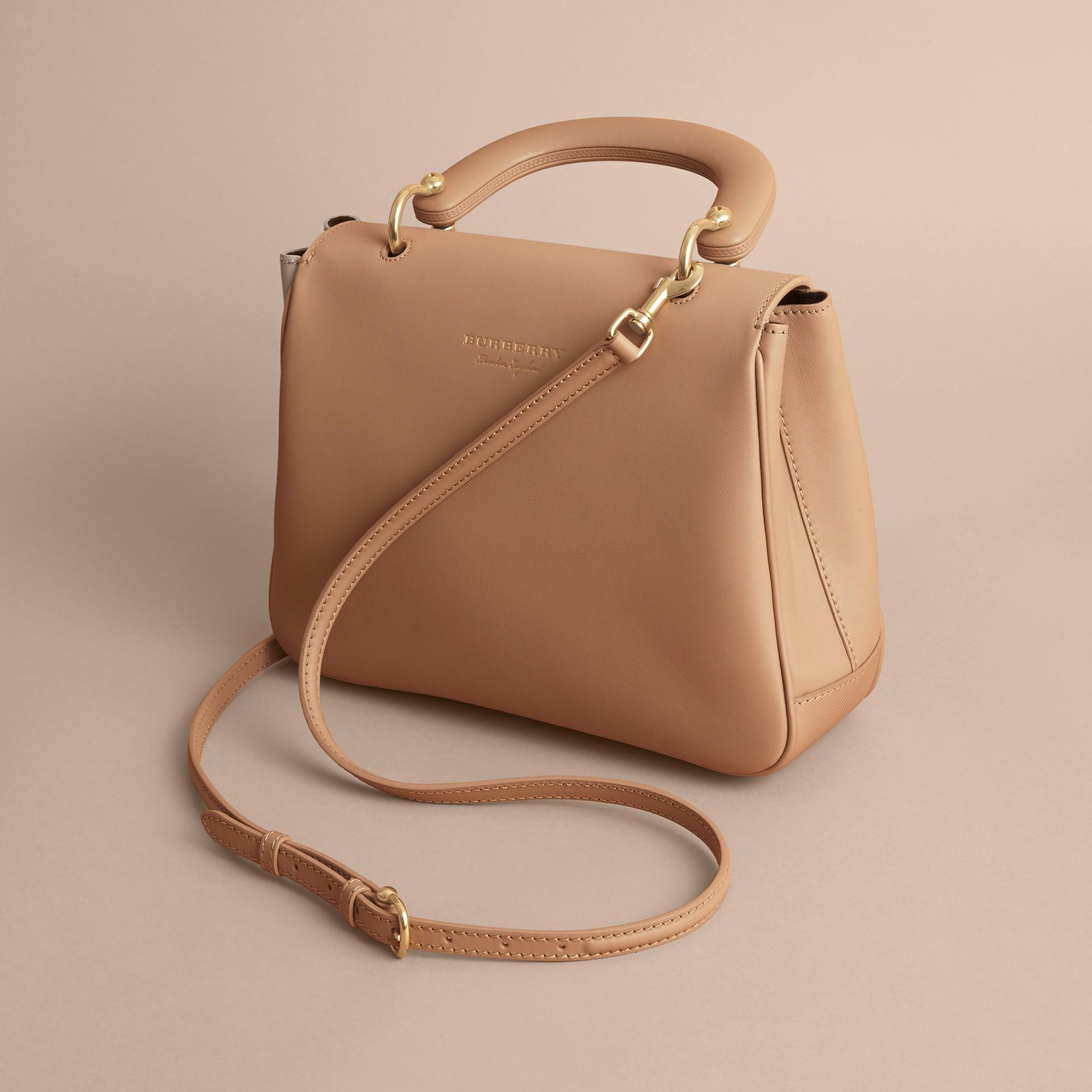 The Medium DK88 Top Handle Bag Honey - gallery image 5