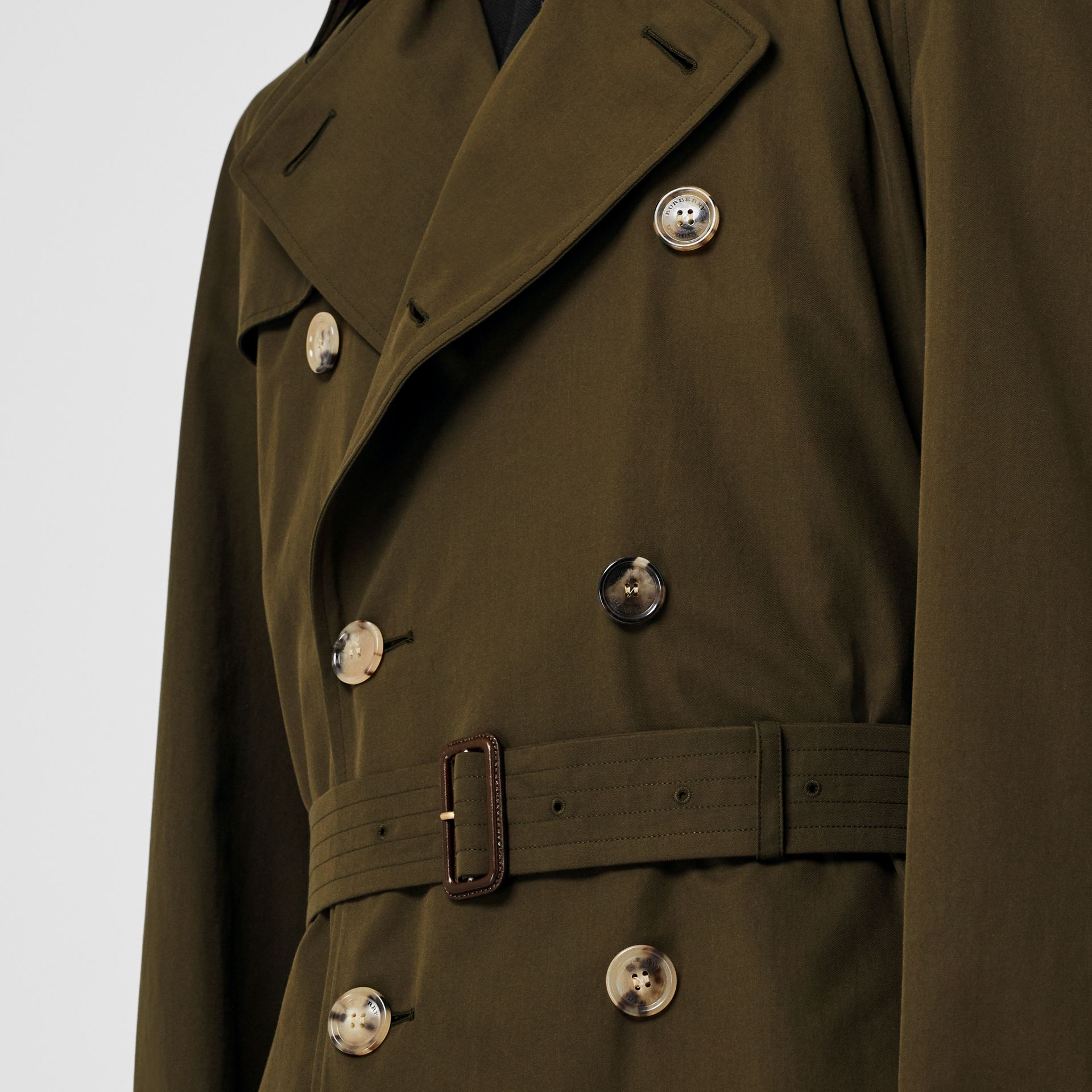 The Westminster Heritage Trench Coat in Dark Military Khaki - Men | Burberry United Kingdom - gallery image 6