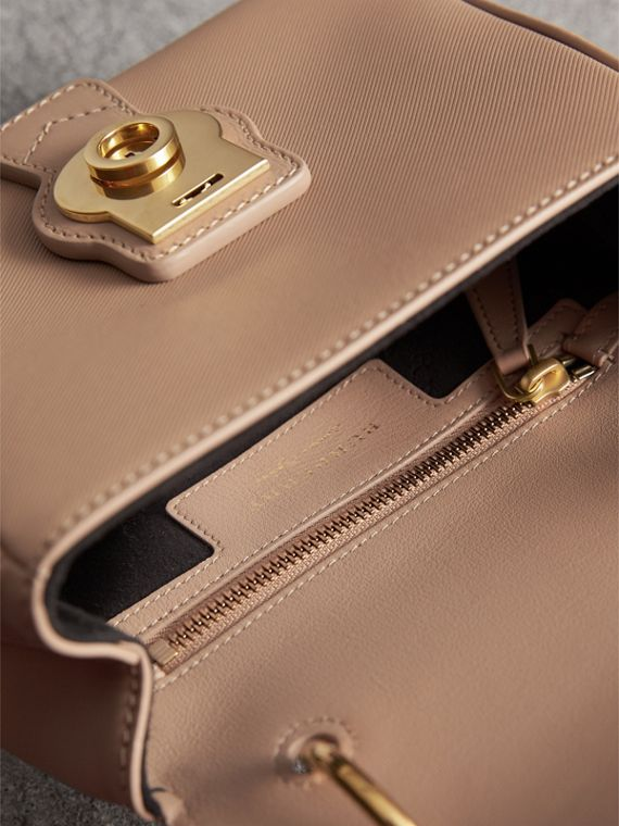 The Small DK88 Top Handle Bag in Honey - Women | Burberry - cell image 3