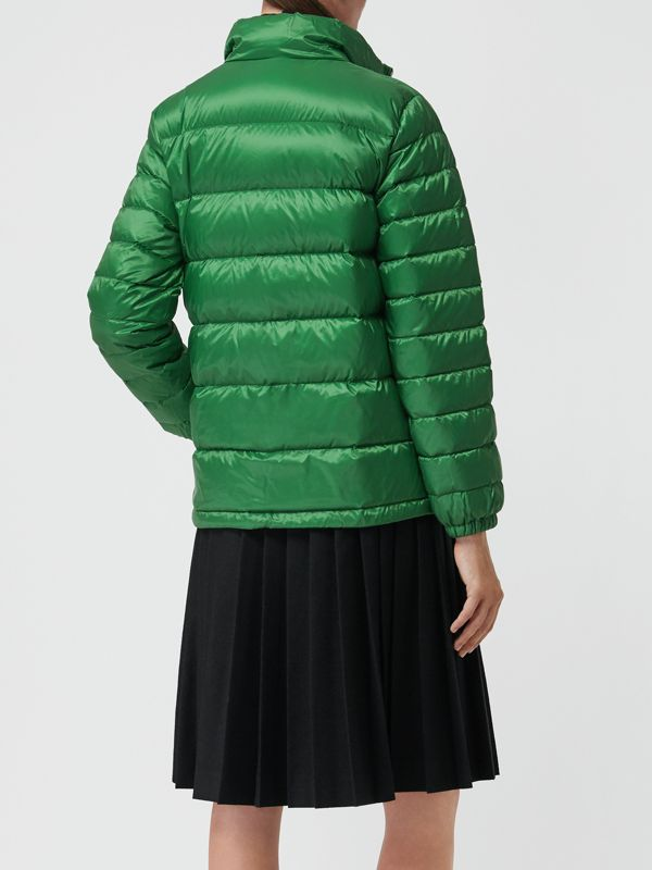 Down-filled Puffer Jacket in Emerald Green - Women | Burberry - cell image 2