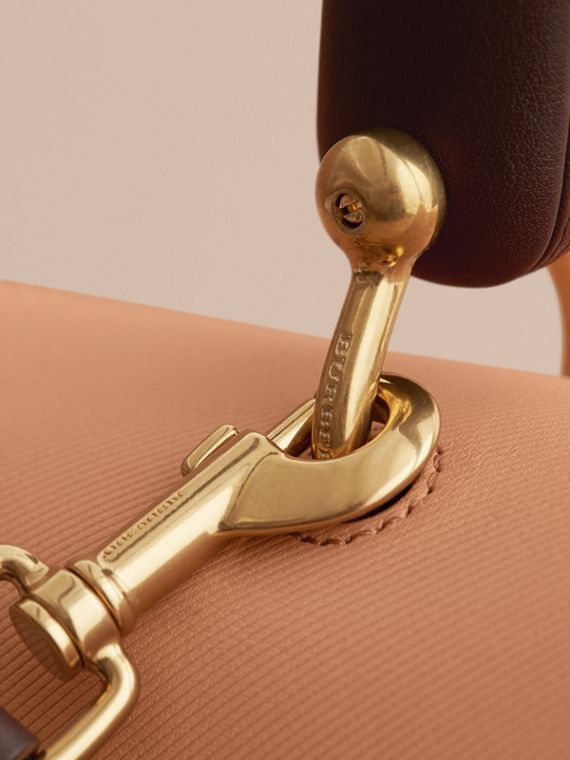 The Large DK88 Top Handle Bag in Pale Clementine - Women | Burberry Australia - cell image 3