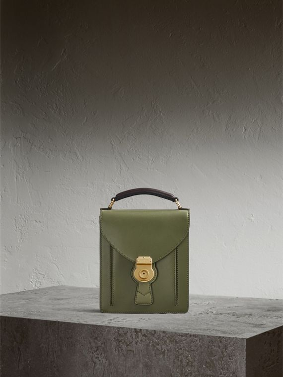 Kleine DK88-College-Tasche Moosgrün