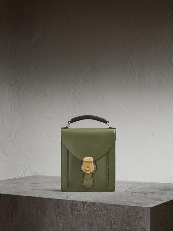 Bolso DK88 satchel pequeño Verde Musgo