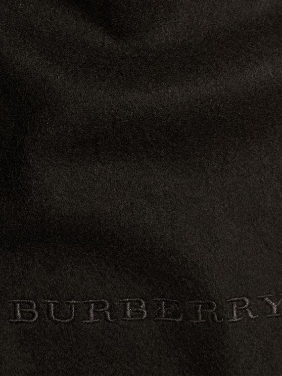Black The Classic Cashmere Scarf Black - cell image 3