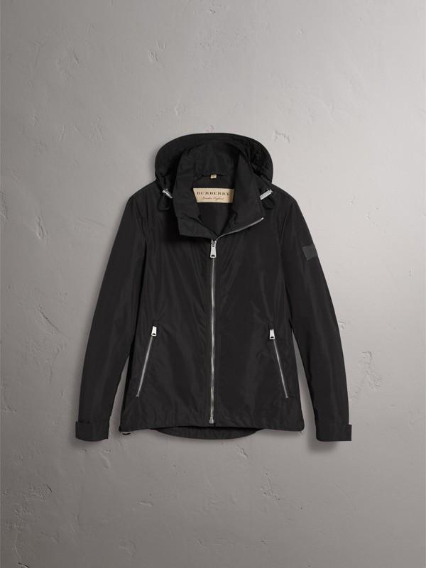 パックアウェイフード シャワープルーフジャケット (ブラック) - メンズ | バーバリー - cell image 3