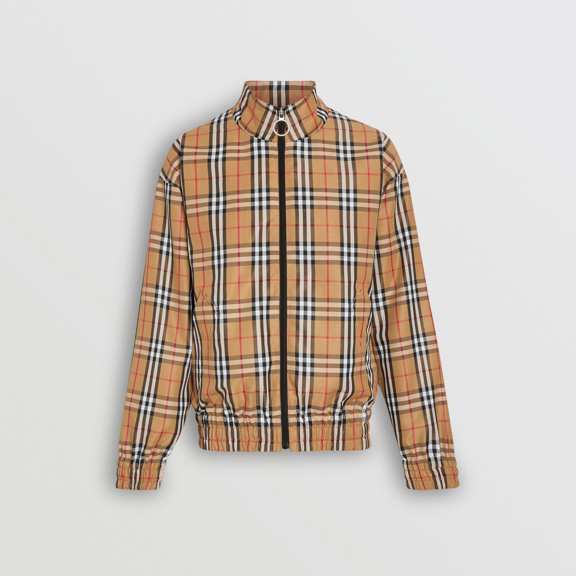 Vintage Check Lightweight Jacket in Yellow - Men | Burberry Australia - gallery image 3