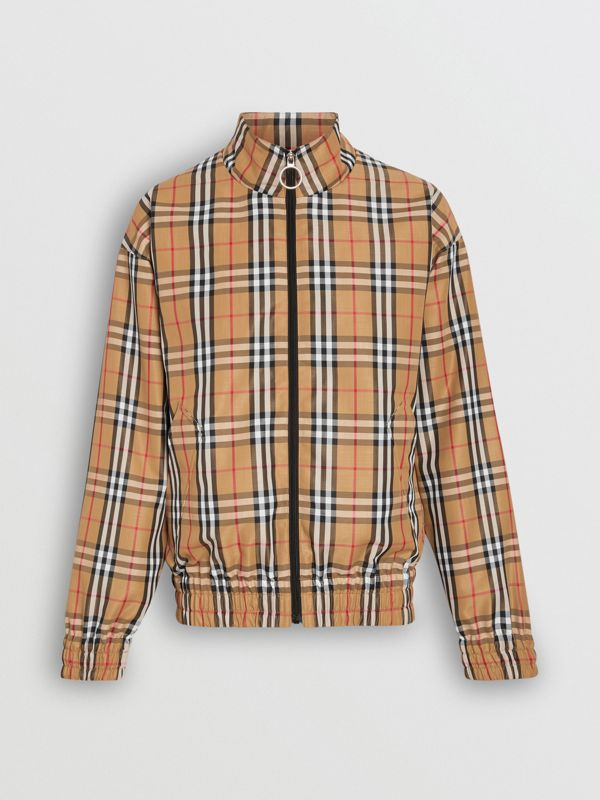 Vintage Check Lightweight Jacket in Yellow - Men | Burberry Hong Kong - cell image 3