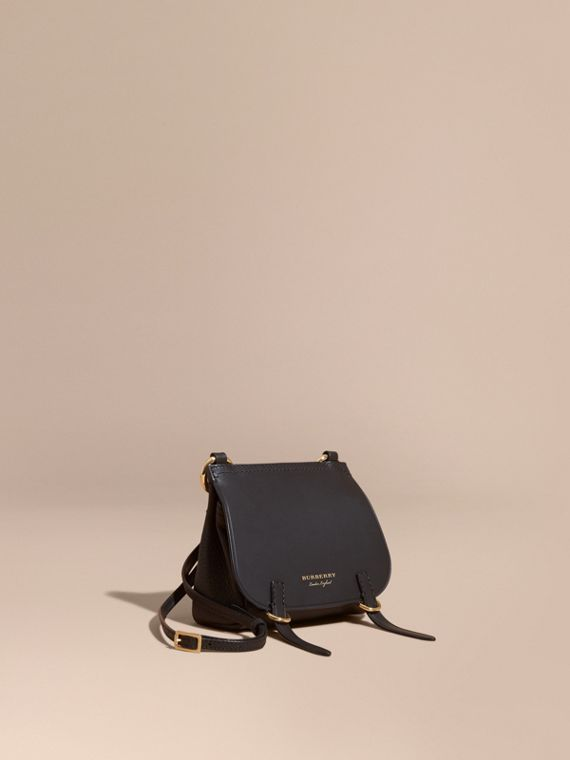 The Baby Bridle Bag in Leather in Black