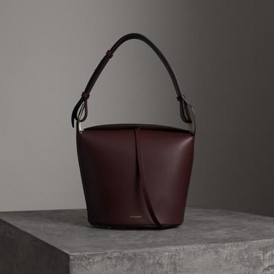The Medium Leather Bucket Bag