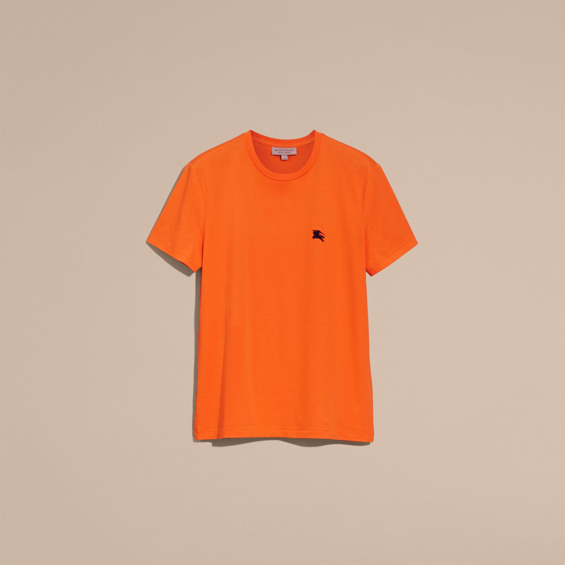 Liquid-soft Cotton T-Shirt Clementine - gallery image 4