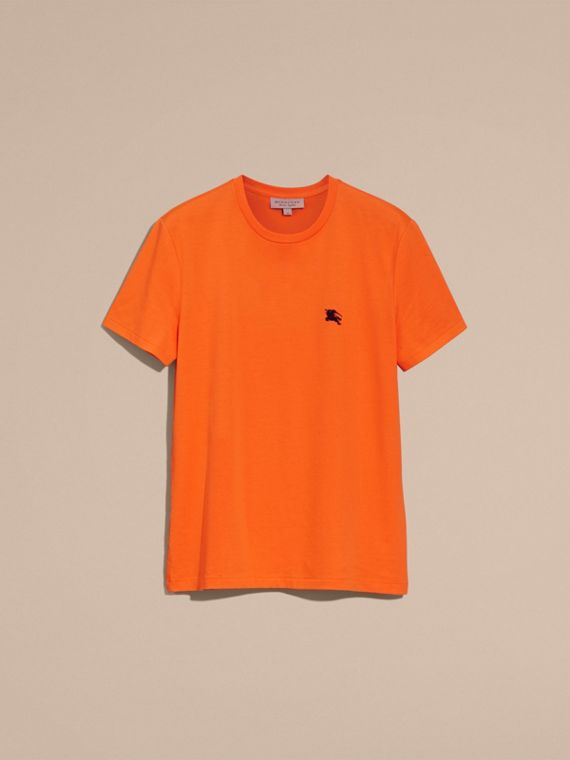 Cotton Jersey T-shirt Clementine - cell image 3
