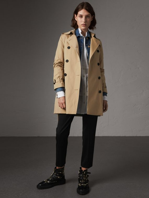 The Kensington – Trench mi-long (Miel)