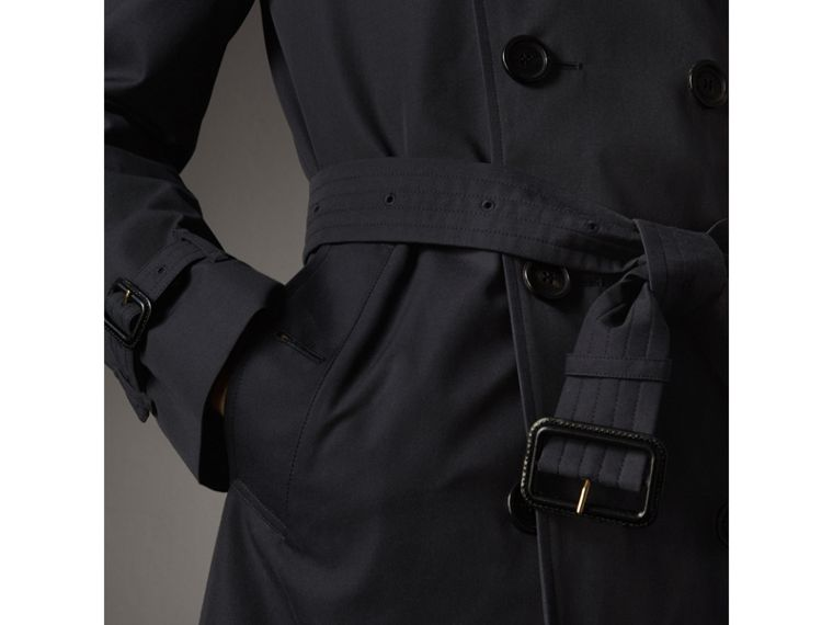 The Chelsea – Mid-length Heritage Trench Coat in Navy - Men | Burberry - cell image 4