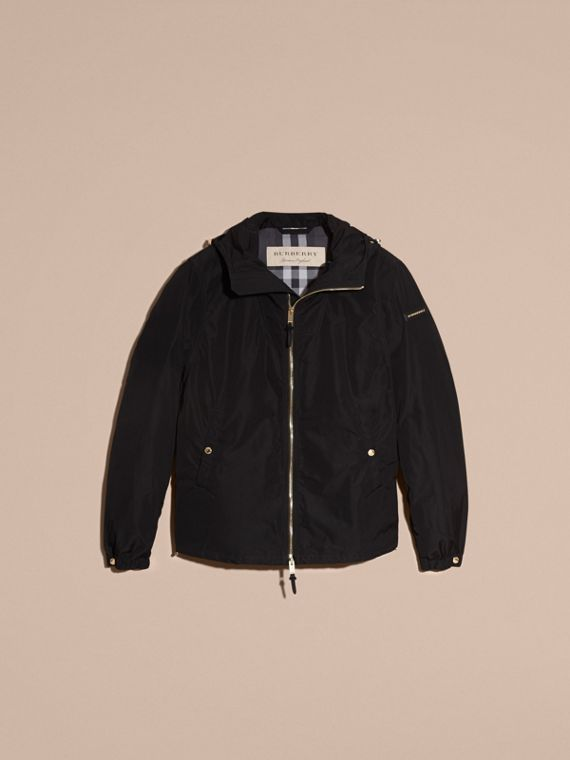 Hooded Lightweight Technical Jacket - Men | Burberry - cell image 3