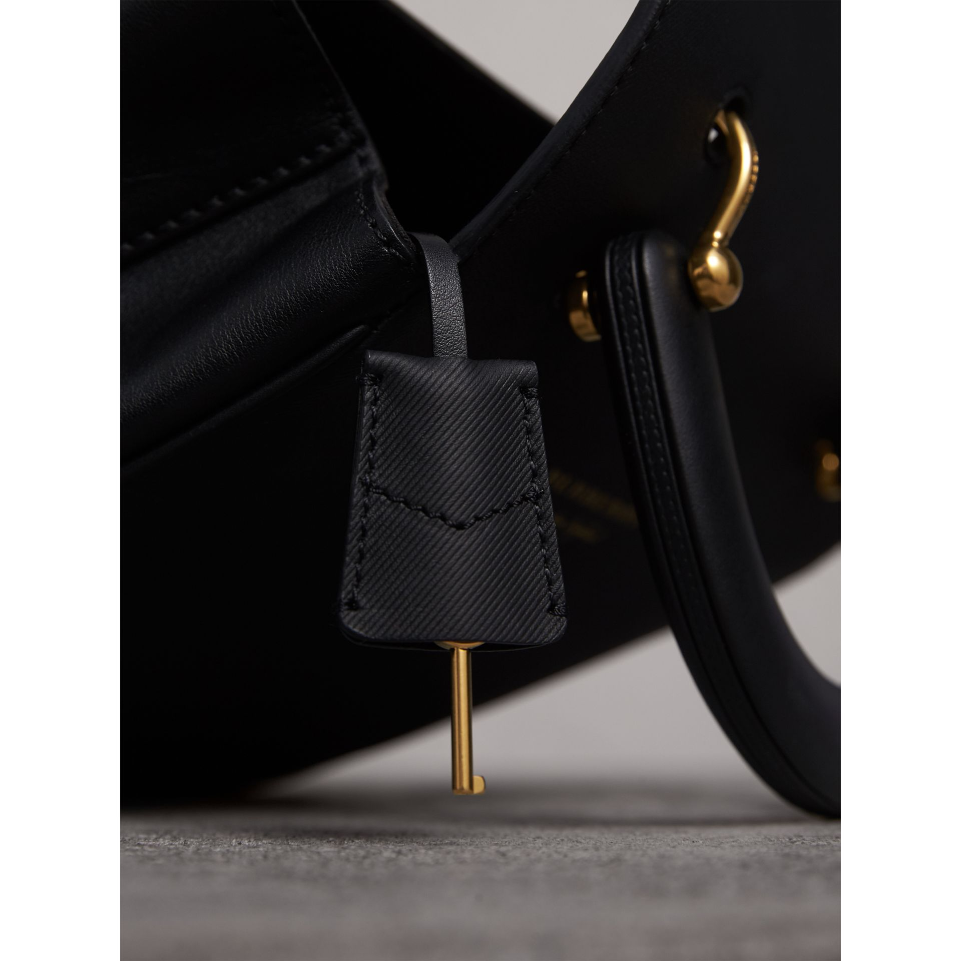 The Medium DK88 Top Handle Bag in Black - Women | Burberry - gallery image 2