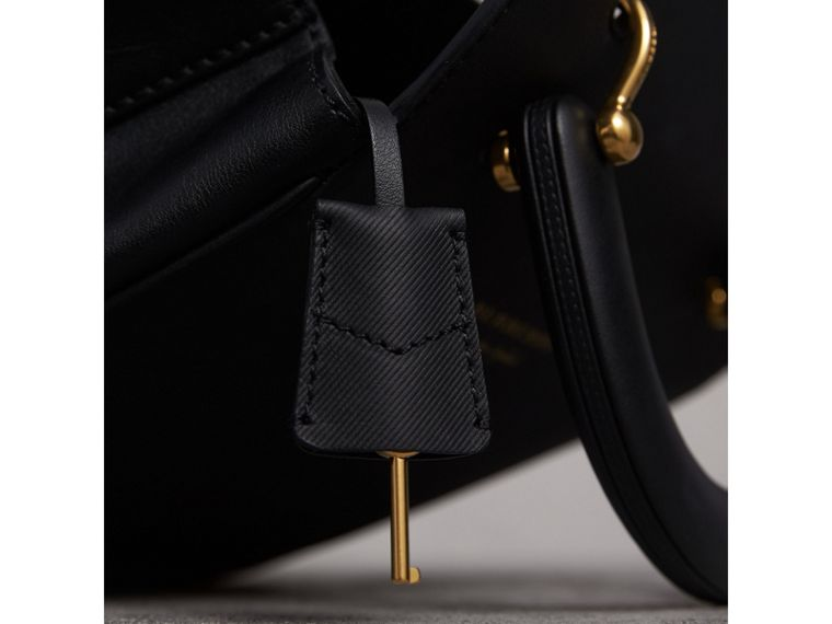 The Medium DK88 Top Handle Bag in Black - Women | Burberry - cell image 1