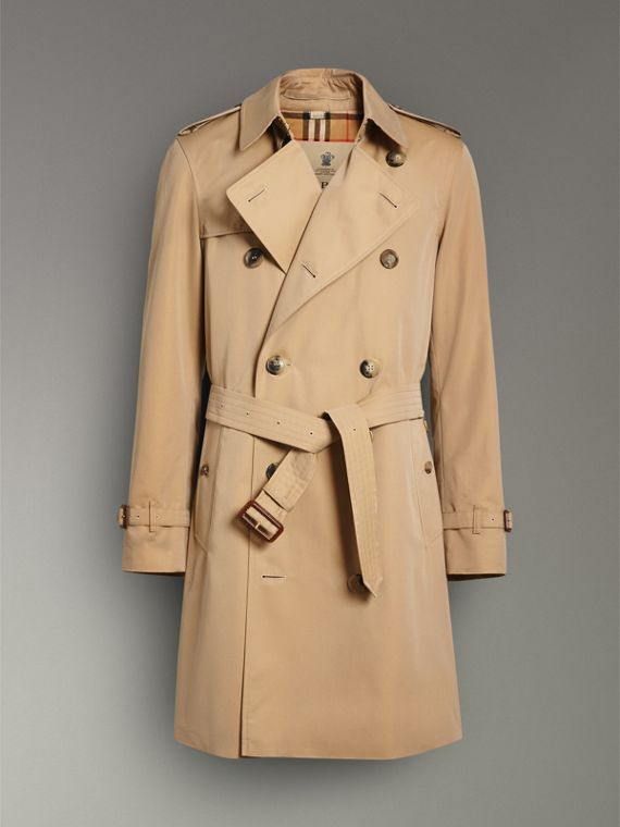The Chelsea Heritage Trench Coat in Honey - Men | Burberry Hong Kong - cell image 3