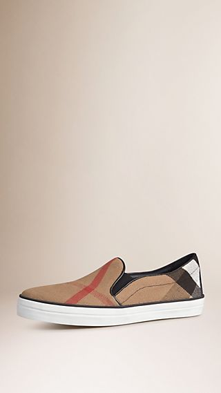 Check Slip-On Trainers