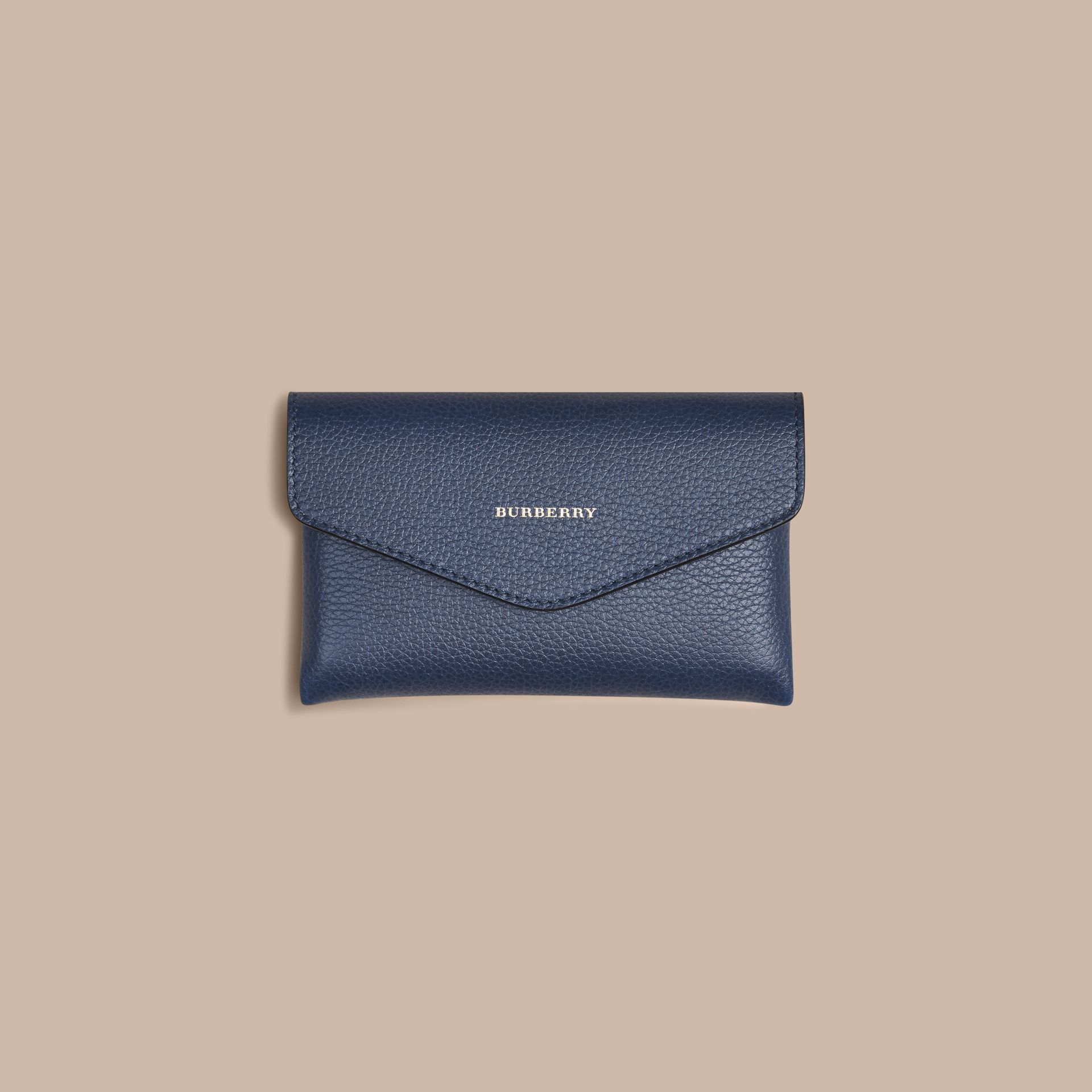 Wooden Domino Set with Grainy Leather Case in Bright Navy | Burberry - gallery image 3